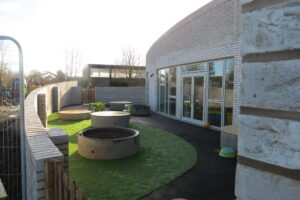 Pilgrims Pre School view from outside